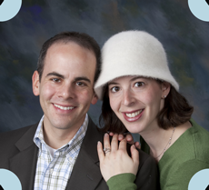 Tamar and Jeremy Lustman